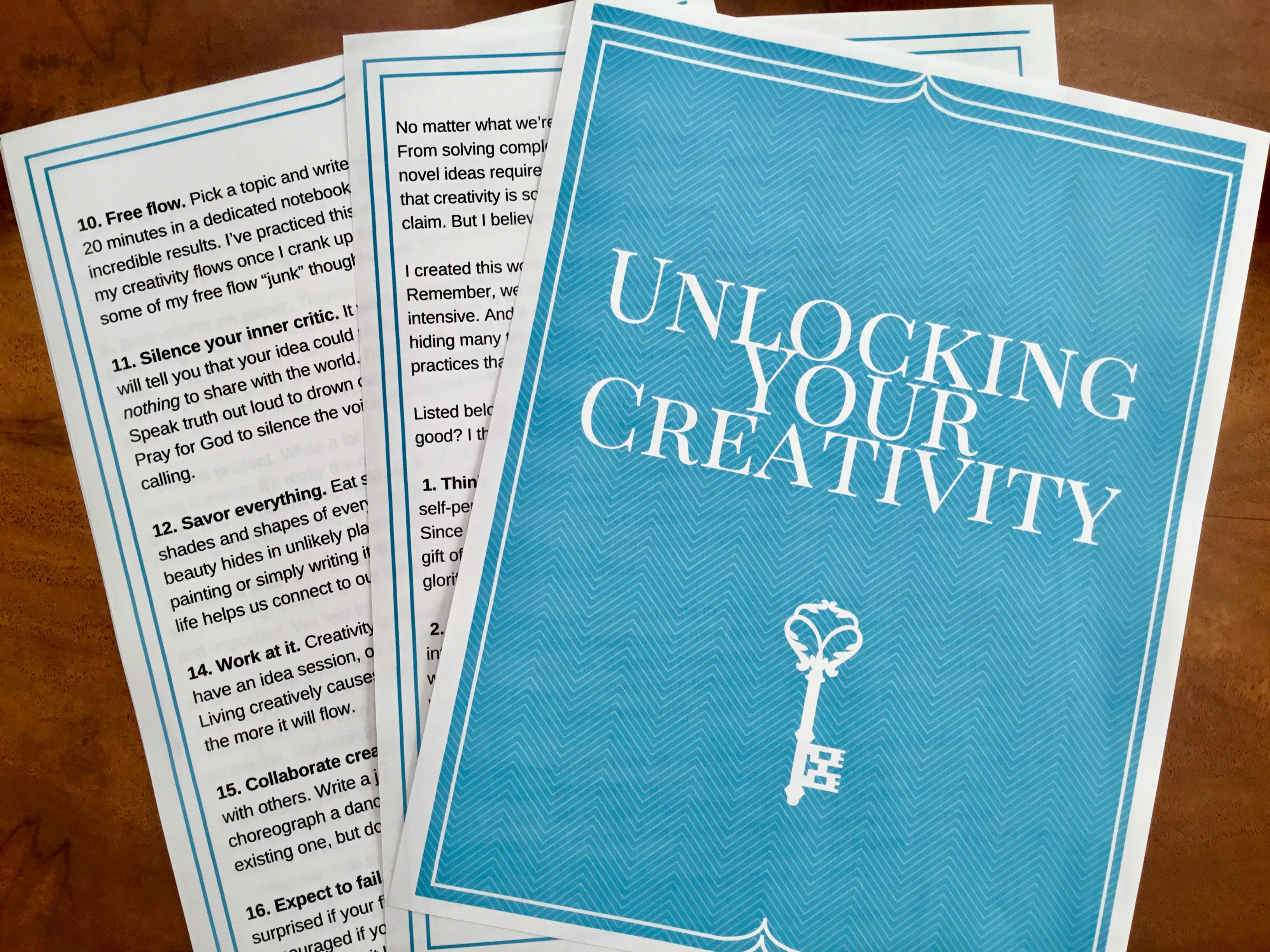 5 Reasons Why YOU Are Creative - May Patterson